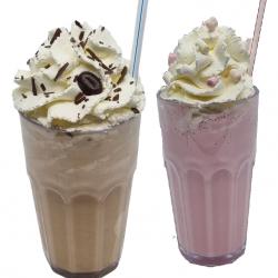 Verse Milkshake & IJskoffie